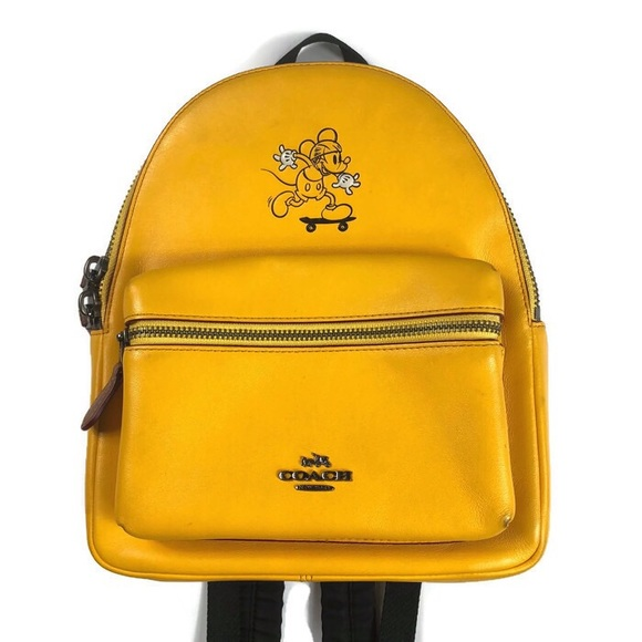 0493704d409 Coach Handbags - Coach x Disney Mickey Mini Charlie Backpack